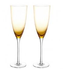 2 бр. Чаши за Шампанско - Амбер