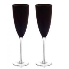 2 бр. Чаши за Шампанско - Черна