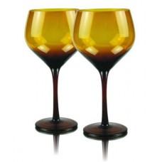 2 бр. Магнум Балон Чаши за Вино Амбер