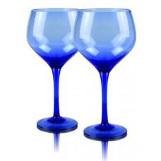 2 бр. Магнум Балон Чаши за Вино Син Червено Вино