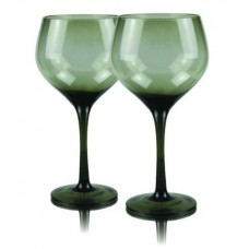 2 бр. Магнум Балон Чаши за Вино Сив Червено Вино