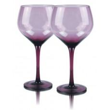 2 бр. Магнум Балон Чаши за Вино Виолет
