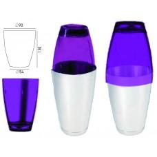 Поликарбонатна Чаша за Шейкър Лилава 520мл