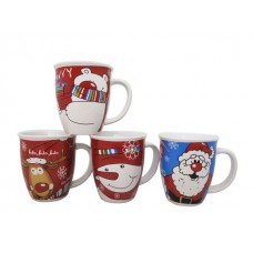 Коледна Чаша с Дръжка за Кафе и Чай 420 мл.