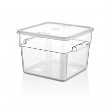 Поликарбонатна Кутия за Съхранение 11.4л с Капак