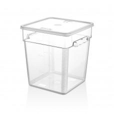 Поликарбонатна Кутия за Съхранение 17.2л с Капак