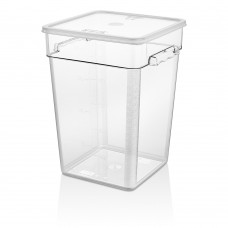 Поликарбонатна Кутия за Съхранение 20.8л с Капак