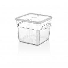 Поликарбонатна Кутия за Съхранение 5.7л с Капак