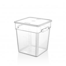 Поликарбонатна Кутия за Съхранение 7.6л с Капак