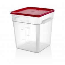 Полипропилен Кутия за Съхранение 17.2л с Капак