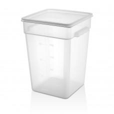 Полипропилен Кутия за Съхранение 20.8л с Капак