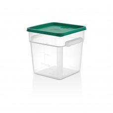 Полипропилен Кутия за Съхранение 7.6л с Капак