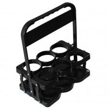 Отворена Чанта за Носене 6 Напитки, Пластмас, Черен