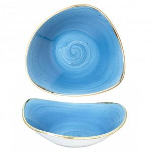 Stonecast Сладко Синьо 18.5см Триъгълна Купа