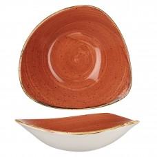 Stonecast Подправено Оранжево 18.5см Триъгълна Купа