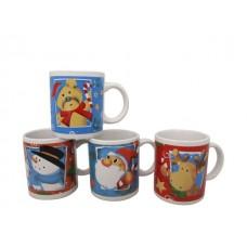 Коледна Чаша със Дръжка за Кафе и Чай 330 мл.