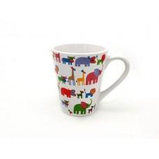 Малки Животните - Чаша с Дръжка - Чаша за Кафе, Чай или Мляко за Деца