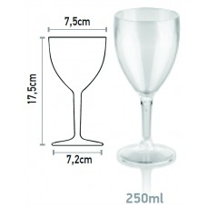 Поликарбонатна Чаша със Столче 250 мл