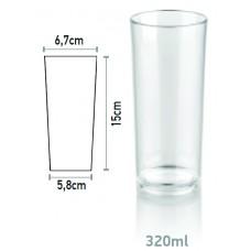 Поликарбонатна Чаша за Безалкохолно 320мл