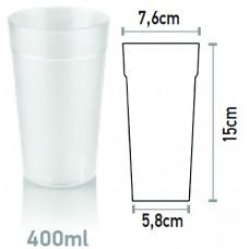 Поликарбонатна Чаша за Безалкохолно 400мл Поликарбонат