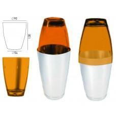 Поликарбонатна Чаша за Шейкър Оранжева 520мл