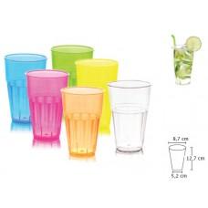 Твърда Пластмасова Чаша за Безалкохолно 400 мл. 24 бр.