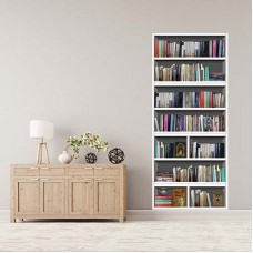 WD14101 - Library Bookshelf Колаж Стенопис