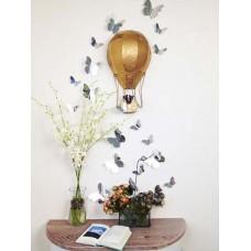 Огледала Пеперуди 3D WALPLUS, WS1013, Стикер за Стена, 12 броя