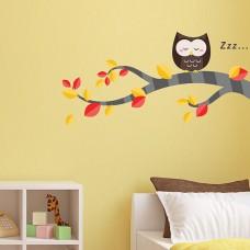 WS3045 - Nursery Owl and Tree