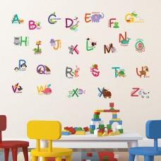 WS5043 - Fauna Animal Alphabet Детски Стикери