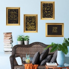 WS6048 - Gold Frame Stickers Дом и Офис