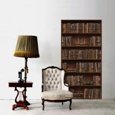 Винтъдж Лавица за Книги WALPLUS, WS8004, Стикери за Стена, 86х170см