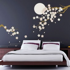 WS8041 - Cherry Blossom Under Moonlight Дом и Офис