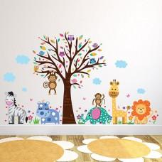 WS9053 - Happy London Zoo Детски Стикери