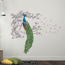 WS9054 - Peacock and Magnolia tree Дом и Офис